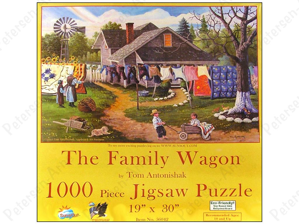 The Seamstress 1000 pc Jigsaw Puzzle by SunsOut