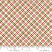 Moda Overnight Delivery by Sweetwater 5708 11 Red Green Diagonal Plaid   9.99 yd PREORDER DUE JUNE JULY  18 c6e22acd3eb