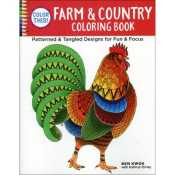 Farm Country Coloring Book By Ben Kwok 999 Each