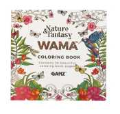 WAMA Coloring Book By Ganz NATURE FANTASY ER48582 750 Each