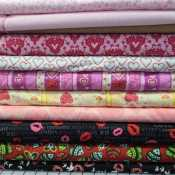 Baby Quilt PRINCESS SOFT Rag Quilt-Elephant Rag Quilt-Modern-Shabby Chic-Girly- Fairy Princesses-Polka Dots-Stripes Pink, Gray /& Lilac