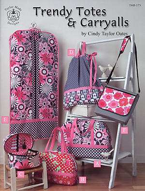Taylor Made Designs Trendy Totes   Carryalls Book TMB-175  13.99 22e57970613e1