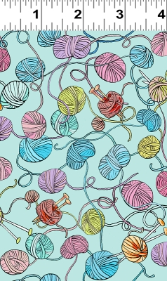 """10/"""" L by 44/"""" W /""""By the Sea/"""" Cute Little Crabs on Blue A Clothworks Cotton"""